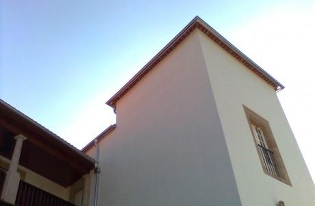 Caleira em Zinco Puro